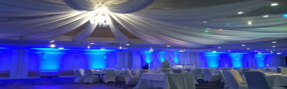 Ceiling draping 900×425